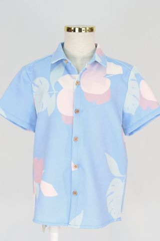 KIDS APPLE LEAF COLLAR SHIRT