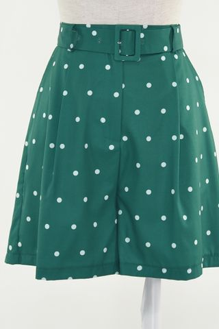 POLKA TAILORED SHORTS