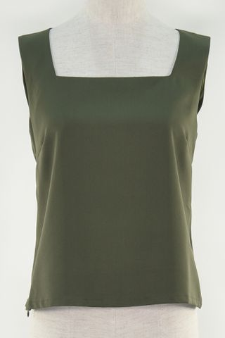 SQUARE NECKLINE SHIFT TOP