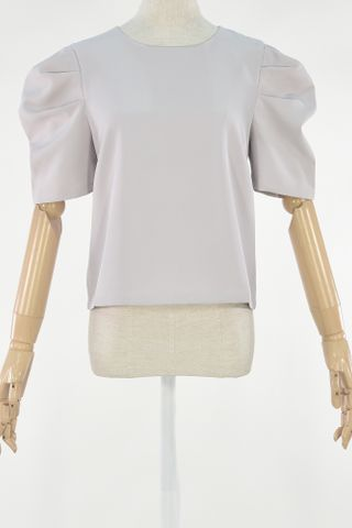 PUFFY SLEEVE BOXY TOP